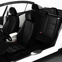 ZACASi - Seat Ibiza 6L - Fundas para asientos de coche a medida de primera calidad y fabricadas según el diseño OEM; juego completo de fundas para asientos en polipiel de la marca Seat-Styler