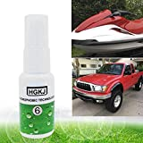 Swiftswan Car Paint Rainproof Nano Hydrophobic Coating Auto Maintenance Accessories(Color:White&Green)