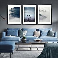 Paintsh Skandinavischen Stil Wohnzimmer Interior Design Moderner,  Minimalistischer Wohnzimmer Sofa Wand Dekorative Malerei Triple Gemälde