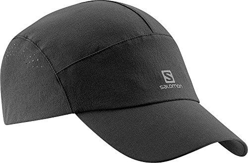 Salomon L35895600 Softshell Cap Cappellino Anti-Vento, Unisex, Taglia Unica, Nero