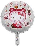 Folienballons Hello Kitty Winter Folienballon