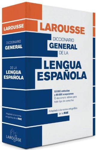 Diccionario general de la Lengua Española par Larousse Editorial