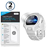 Alcatel OneTouch Go Armbanduhr Displayschutzfolie, BoxWave® [ClearTouch Crystal] HD Film Haut–Shields vor Kratzern für Alcatel OneTouch Go Armbanduhr