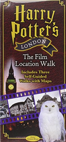 Harry Potters London the Film Location Walk: Includes Three Self-Guided Walks with Maps