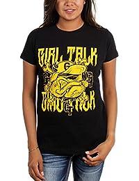 Girl Talk - Womens Bulldog T-Shirt