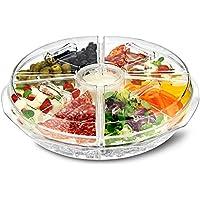 Su ghiaccio 8 sezione Vassoio per aperitivi, colore: ghiaccio