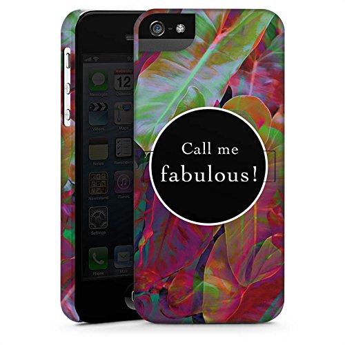 Apple iPhone X Silikon Hülle Case Schutzhülle Fabulous Bunt Statement Premium Case StandUp