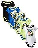 DC Shoes Co Baby-Boys Newborn 5 Pack Bodysuits-Blue - Best Reviews Guide