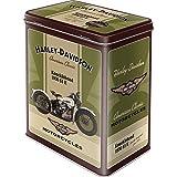 Barattolo di Metallo per Alimenti - Harley-Davidson Knucklehead
