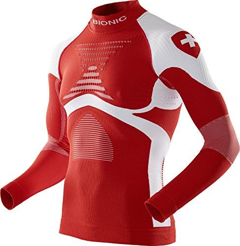 X-Bionic Herren Patriot ACC_EVO UW Shirt LG_LS.Turtle Neck. Unterwäsche, Switzerland, XXL