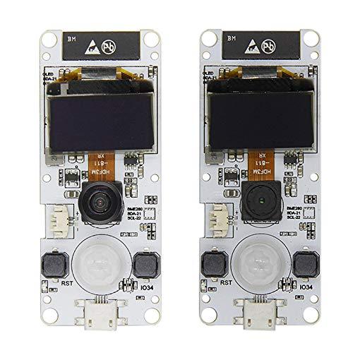 TTGO T-Camera Camera Module ESP32-WROVER-B OV2640 Camera Module 0 96 OLED