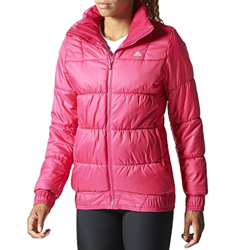 J, P LT JACKET ROS Adidas-Piumino da donna rosa Large