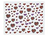 Nailart Sticker Herz 02