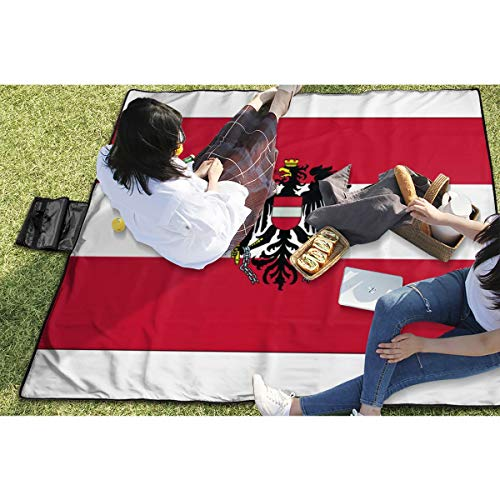 BigHappyShop Picnic Blanket Flags of The World Waterproof Extra Large Outdoor Mat Camping Or Travel Easy Carry Compact Tote Bag 59