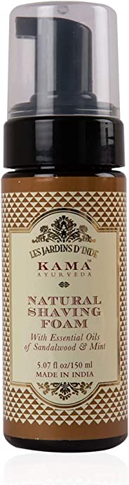Kama Ayurveda Shaving Foam, 150ml