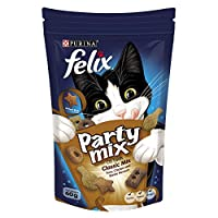 Purina Felix Party Mix Classic Mix Cat Treats 60g(Pack of 1)