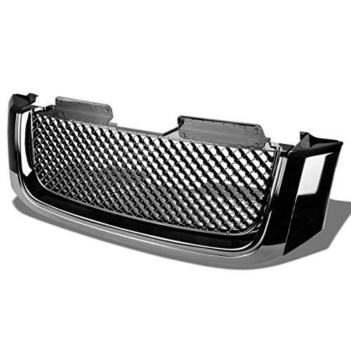 gmc-envoy-xl-abs-plastic-sport-mesh-front-bumper-grille-black-2nd-gen-by-auto-dynasty