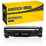 Amstech 2.500 Seiten Kompatibel für HP CE285X 85X HP85A 85A 285A CE285A CE285AD für HP LaserJet Pro P1102w P1102 1102w m1212nf MFP Laserjet 1100 1200 Toner Schwarz Druckerpatrone M1217nfw M1132