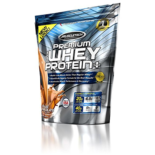MuscleTech Premium Whey Protein Plus - 5 lbs(Deluxe Chocolate)