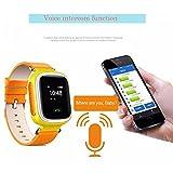 Witmoving Kinder Smart Uhr Watch GPS-Verfolger Armbanduhr SOS Armband mit SIM-Karten Slot für IOS Android Smartphones (Rosa) - 6