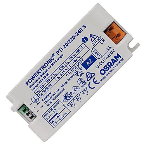 Elektronisches Vorschaltgerät Metalldampflampen (OSRAM PTi EVG Vorschaltgerät CDM HCI HQI HID Powertronic S MINI 35 Watt)