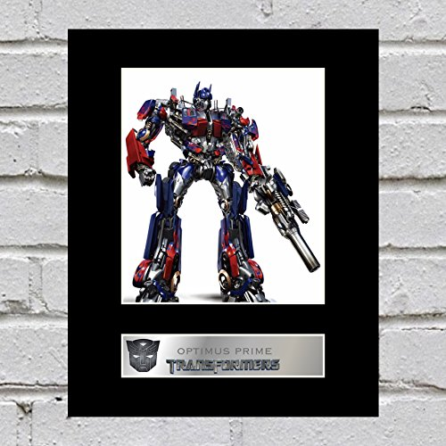 Optimus Prime montiert Foto Display Transformers - Survivor Lone Dvd