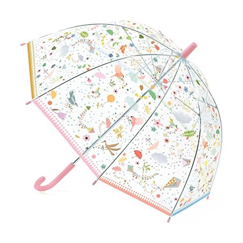 Kinder Regenschirm Stockschirm Transparent Djeco