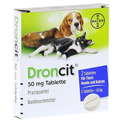 Droncit Tabletten für Hunde /Katzen 2 Stück