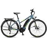 Winora E-Bike Yucatan 20 Damen 500Wh 28'' 20-G XT 18 YWC Aqua/Lime Matt 48
