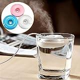Sundlight Aroma Diffuser Luftbefeuchter Donut geformt fürs Haus, Büro, Schlafzimmer, Kinderzimmer mit Mini Tragbar USB-Weiß