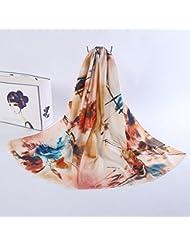 ZLL Manera de las señoras impreso mantones, bufanda, bufanda de seda , 1