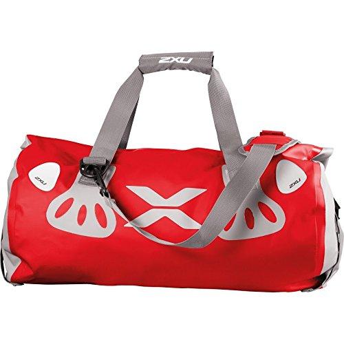 Seamless Waterproof Bag - 2XU - uq2158g red/gry