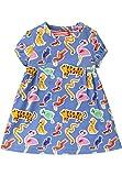 Oilily Jersey Kleid Trada Blau für Mädchen YS18GDR087