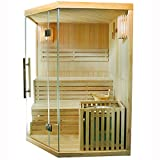 Artsauna Traditionelle Saunakabine/Finnische Sauna Espoo 150 x 150 cm 6 kW - 3