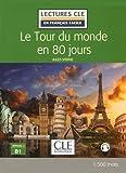 Image de Le tour du Monde en 80 jours - Niveau 3/B1 - Lectures CLE en Français facile - Livre - 2ème édition