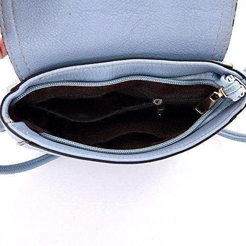 Kukubird sac bandoulière Lily sac Casual tous les jours avec le sac à poussière Kukubird Beige