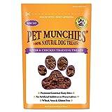 Pet Munchies 100% natürliche Hunde-Trainingsleckerli (50 g) (Leber/Huhn)
