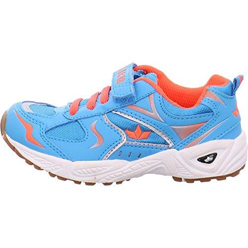 Lico  Bob VS, Chaussures indoor mixte enfant bleu/orange