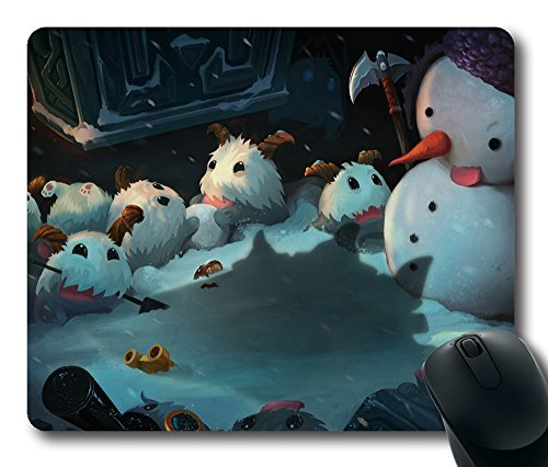 gaming-mouse-pad-league-of-legends-snowman-oblong-shaped-mouse-mat-design-natural-eco-rubber-durable