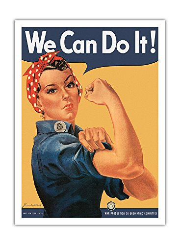 Pacifica Island Art We Can do it–Rosie