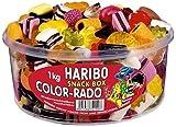 Haribo Color-Rado Dose, 2er Pack (2X 1 kg Dose)