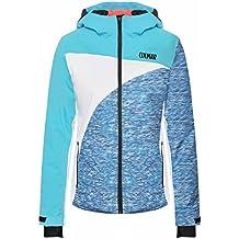 Colmar–Iceland Summit Chaqueta de esquí para mujer, color azul claro, tamaño medium