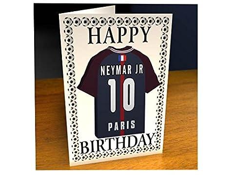 MyShirt123 - France Ligue 1–Carte de vœuex motif équipe de football - Personnalisable