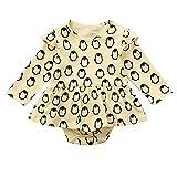 MEIbax Infant Kleinkind Baby Mädchen Strampler Kleid Pinguin Cartoon Print Kleidung Overall Outfits