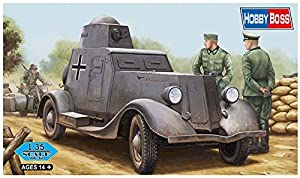 Hobbyboss 83884 Kit de plástico Modelo ba-20 m Soviética Armored Car, 1: 35 Escala