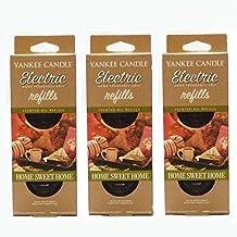 """Yankee Candle - Ricariche per deodorante elettrico per ambienti, fragranza """"Home Sweet Home"""", 3 confezioni da 2 pezzi ciascuna (6 ricariche in totale)"""