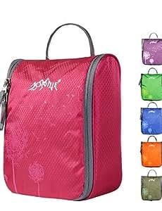 BEAUTS borsa trousse da toilette per le donne e gli uomini di campeggio necessaries cosmetici caso di trucco sacchetto dell'organizzatore , black