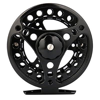 Mounter Fishing Tool Fishing Reel 3/4/5/6/7/8 WT Large Arbor Fly Fishing Reel Silver/Black Aluminum by Mounter