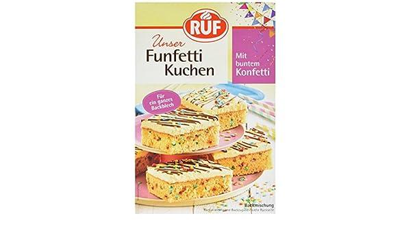 Ruf Funfetti Kuchen 750 G Amazon De Lebensmittel Getranke