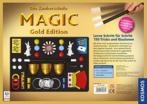 Kosmos-698232-Zauberschule-Magic-Gold-Edition